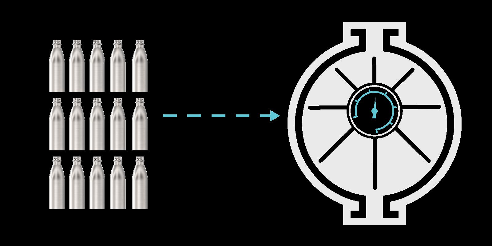 Hoe we onze metalen flessen maken - Step5