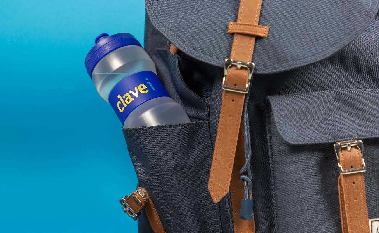 Fit - Waterflessen flessen logo