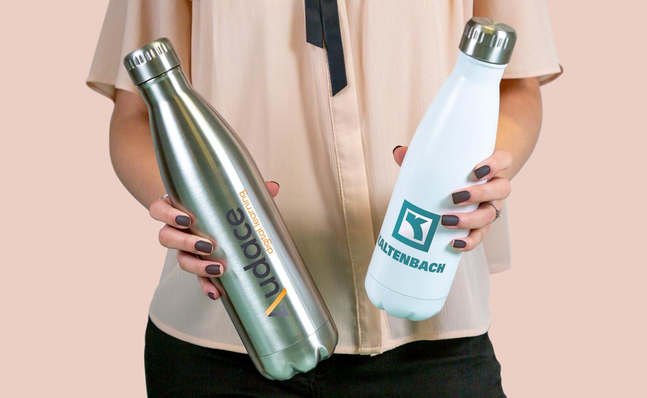 Nova - Waterflessen flessen logo