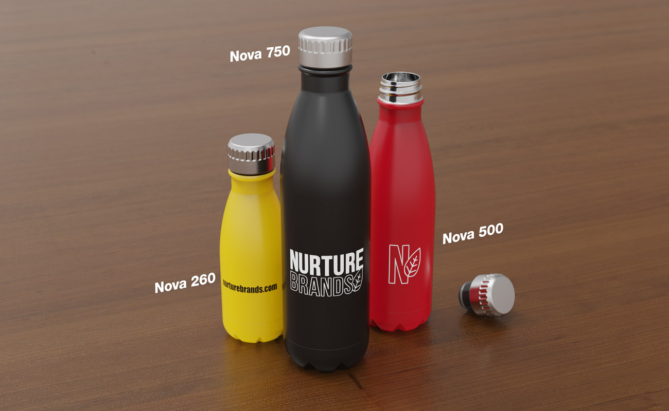 Nova - Bedrukte waterflessen
